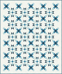 Pattern The Carol Quilt: Blue