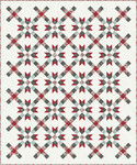 Pattern The Carol Quilt: Red