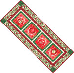 Pattern Festive Table Runner: Holiday
