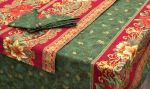 Fabric Tablecloth, Runner and Napkins