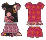 Fabric Little Girl's Dress & More