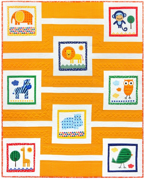 A Day At The Zoo Free Pattern Robert Kaufman Fabric Company
