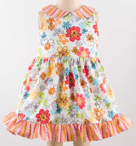 (Free!) Itty Bitty Baby Dress Pattern - Made By Rae
