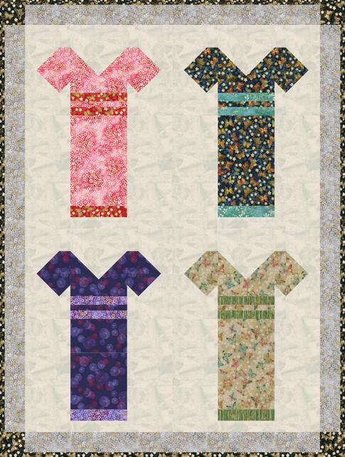 Akiko S Kimonos Free Pattern Robert Kaufman Fabric Company