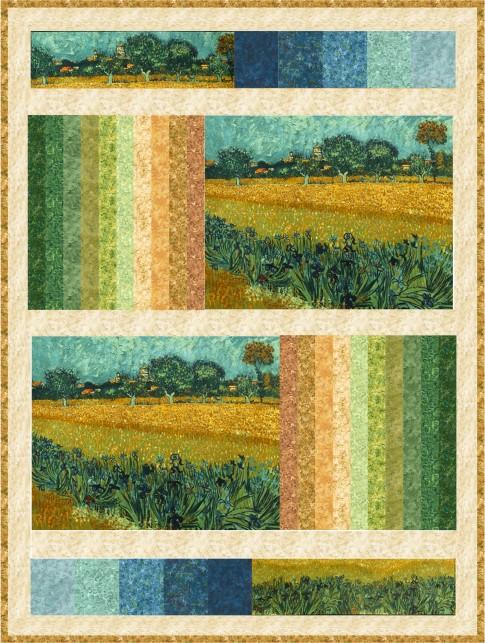 Arles Free Pattern Robert Kaufman Fabric Company
