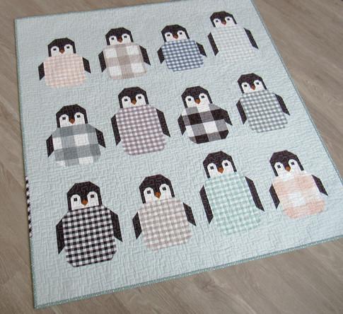 Penguin Party Designer Pattern Robert Kaufman Fabric Company