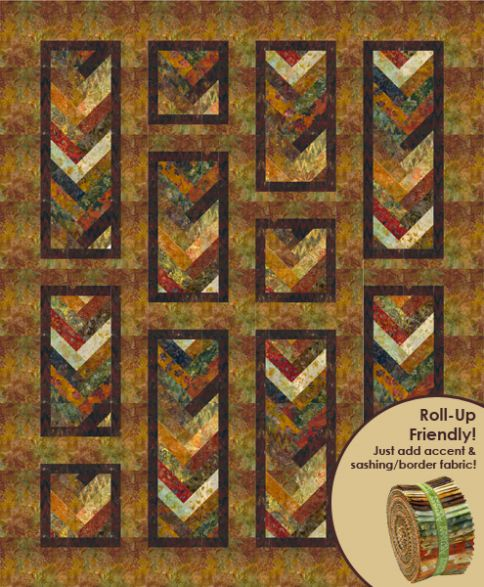 Autumn Braid Designer Pattern: Robert Kaufman Fabric Company : braid quilt pattern - Adamdwight.com