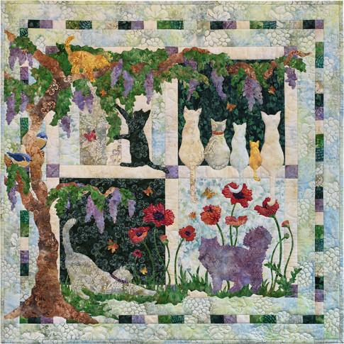 Wisteria lane designer pattern robert kaufman fabric company malvernweather Gallery