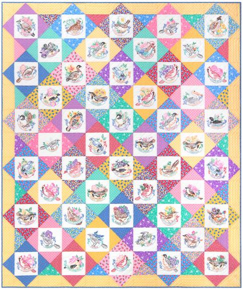 bdfb761ff7 Birds of Liberty Free Pattern  Robert Kaufman Fabric Company