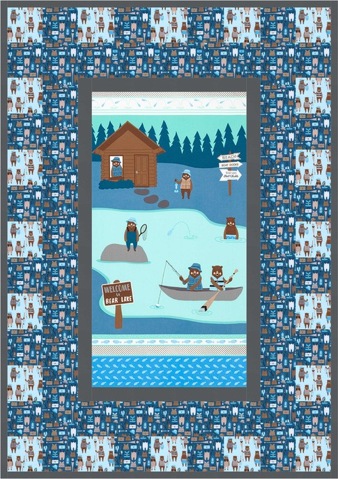 Cabins And Canoes Free Pattern Robert Kaufman Fabric Company