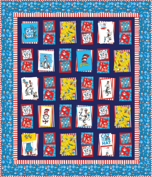 Bump Thump Panel Quilt Free Pattern Robert Kaufman Fabric