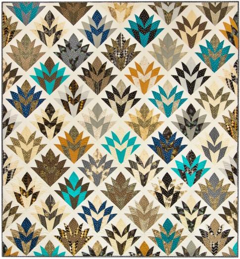 cleopatra s fan free pattern robert kaufman fabric company