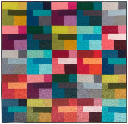 Free Quilt Patterns for Kona Solids from Robert Kaufman - Harts Fabric Blog: Sew Your Hart Out