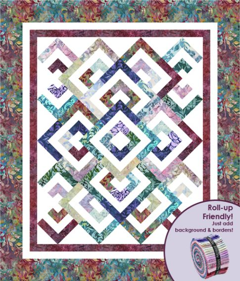 Diamond Double Designer Pattern Robert Kaufman Fabric Company