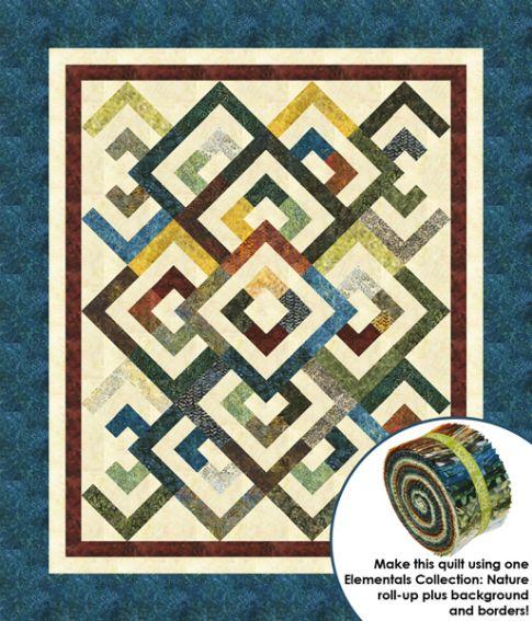 Diamond Pattern For Quilting : Diamond Double Designer Pattern: Robert Kaufman Fabric Company