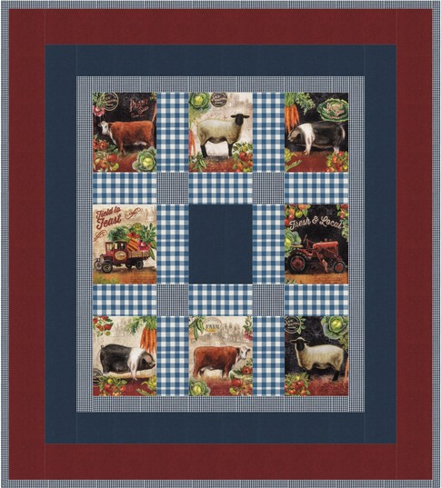Farmers Market Free Pattern Robert Kaufman Fabric Company