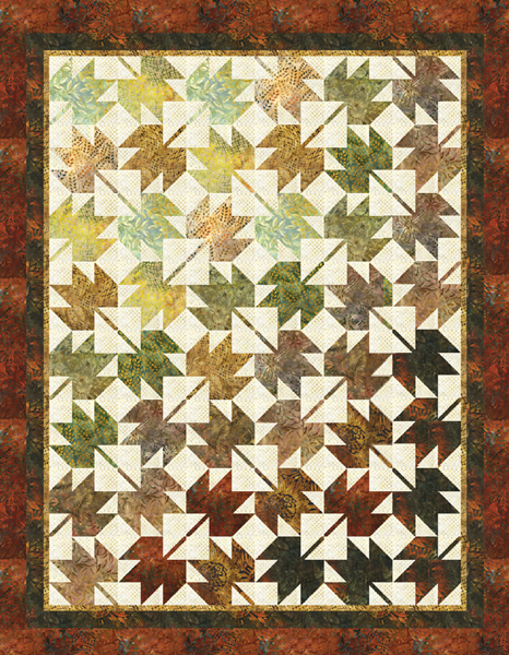 Free Maple Leaf Quilt Block Inspired Patterns - Free Printable