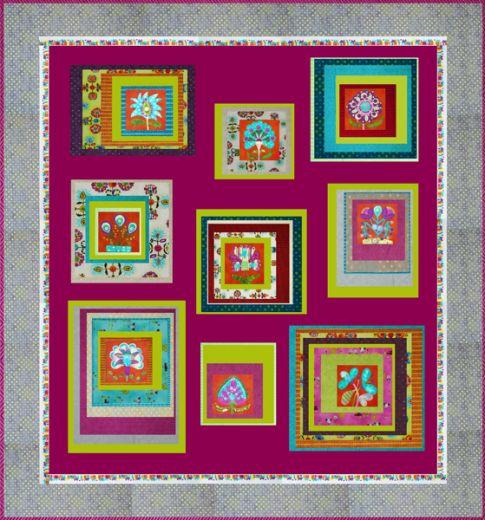 Folkloric Blocks Free Pattern: Robert Kaufman Fabric Company