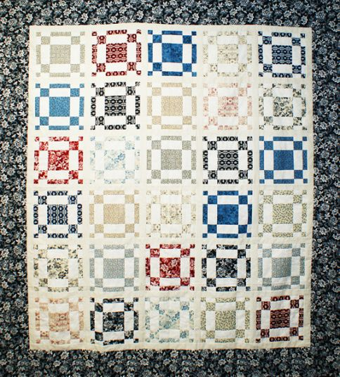 Frosted Squares Designer Pattern: Robert Kaufman Fabric Company
