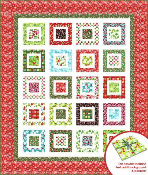 Jingle Bell Rock Free Pattern Robert Kaufman Fabric Company