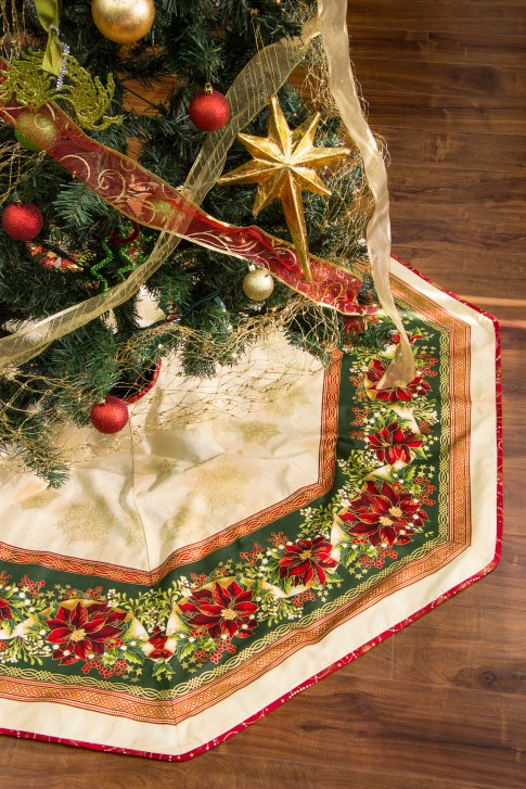 Tree Skirt Free Pattern Robert Kaufman Fabric Company
