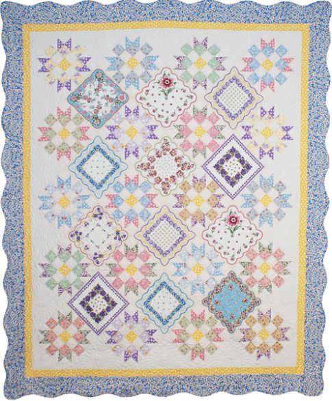 Free Quilt Pattern Grandma S Hankies Cafca Info For