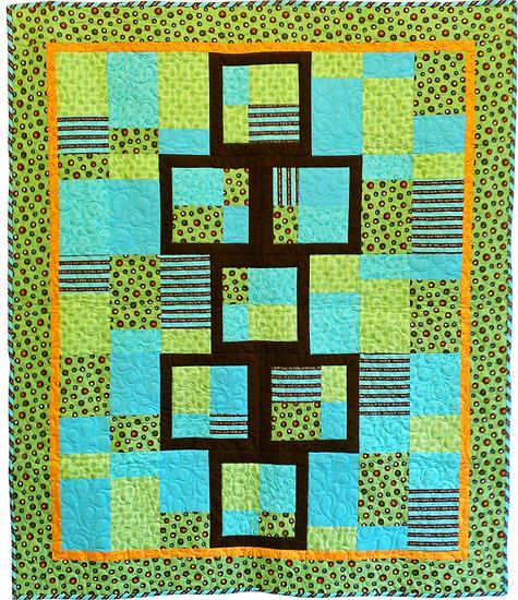 9 Months Til Baby Hopscotch Free Pattern Robert Kaufman Fabric