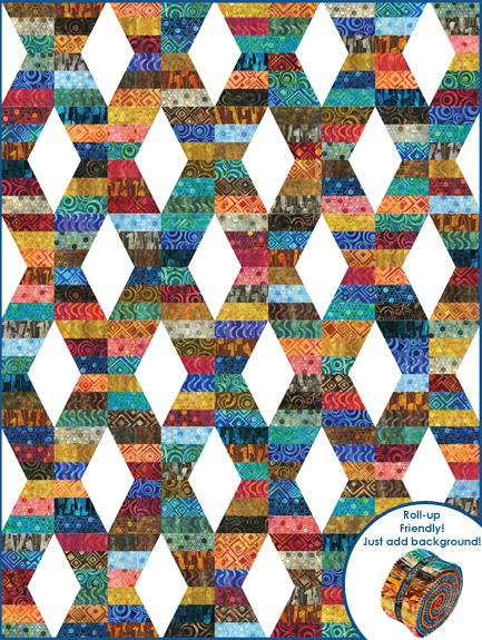 Hugs & Kisses Designer Pattern: Robert Kaufman Fabric Company