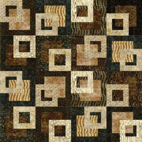 Quilt Patterns From Squares : QUILTING SQUAR PATTERNS FREE Quilt Pattern