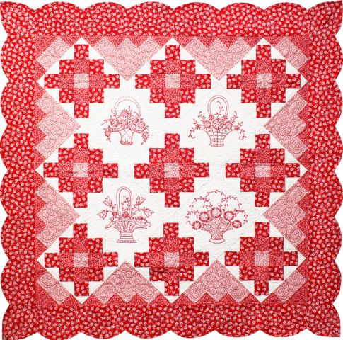 http://www.robertkaufman.com/quilting/quilts_patterns/lazy_daisy_redwork/