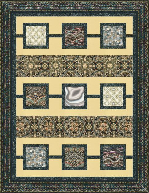Free Quilt Patterns For Throws : Lumina - Throw Size Free Pattern: Robert Kaufman Fabric Company