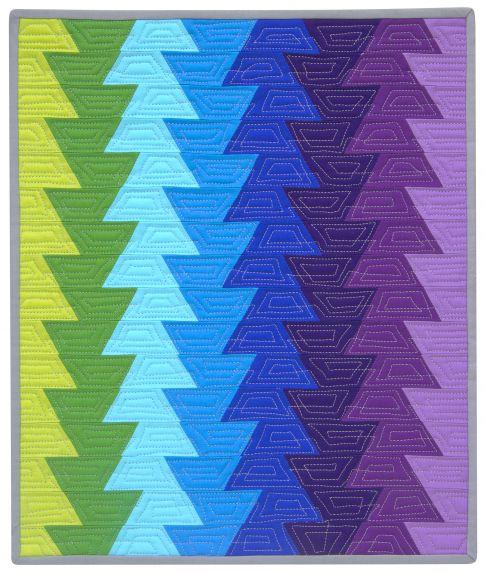 Northern Lights Fabric : Jaybird mini northern lights designer pattern robert