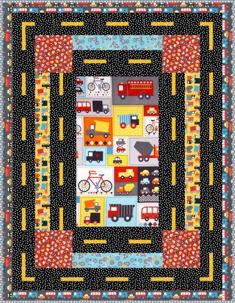 Mode of Transportation Free Pattern: Robert Kaufman Fabric Company : transportation quilt - Adamdwight.com