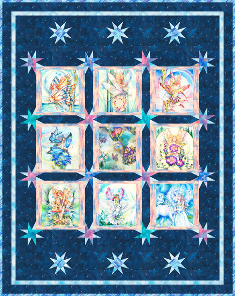 Morningmoon Fairies Free Pattern Robert Kaufman Fabric