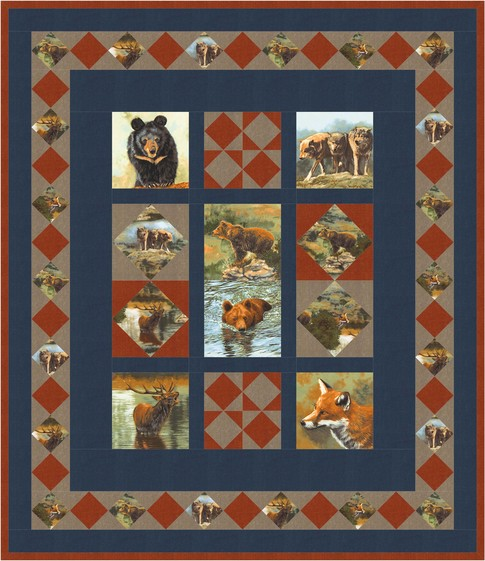 The Great Outdoors Free Pattern Robert Kaufman Fabric Company