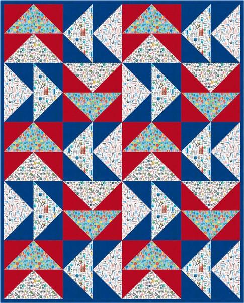 Taking Flight Free Pattern Robert Kaufman Fabric Company