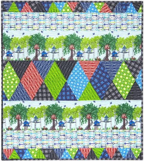 Playtime-Flannel Free Pattern: Robert Kaufman Fabric Company