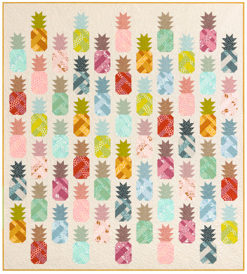 Pineapple Farm Designer Pattern Robert Kaufman Fabric Company