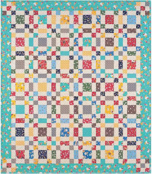 Ride Em Cowboy Free Pattern: Robert Kaufman Fabric Company
