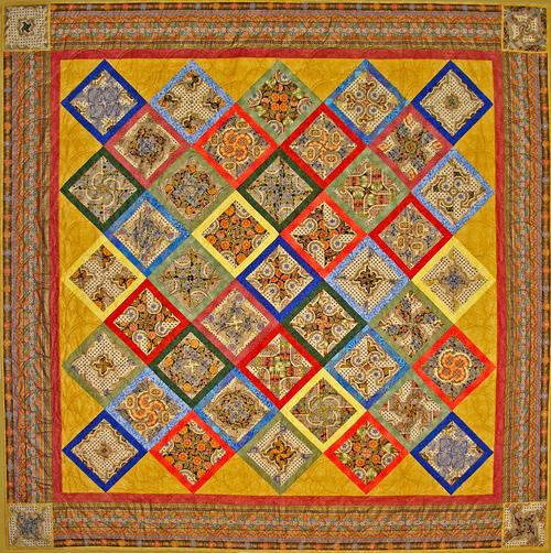Florentine Fantasy Quilt Designer Pattern Robert Kaufman