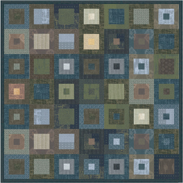 Kasuri Gesiki Free Pattern Robert Kaufman Fabric Company