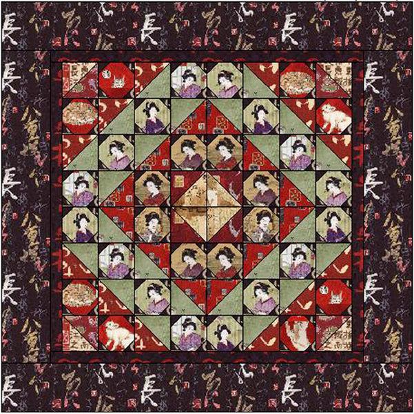 Oriental Traditions Free Pattern Robert Kaufman Fabric