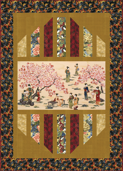 Think, that Asian quilting fabric panels agree with