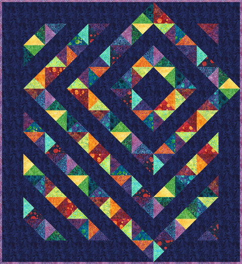 Four Patch Charm Quilt Free Pattern Robert Kaufman Fabric Company