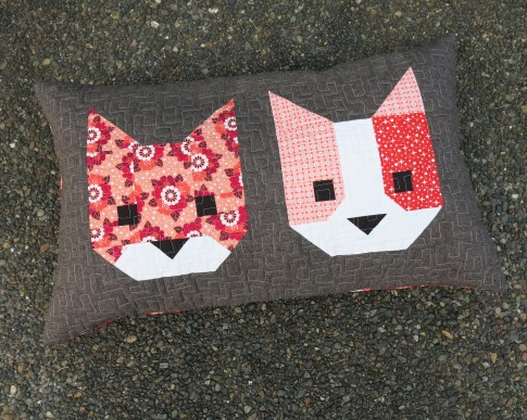 Cat Friends Designer Pattern Robert Kaufman Fabric Company