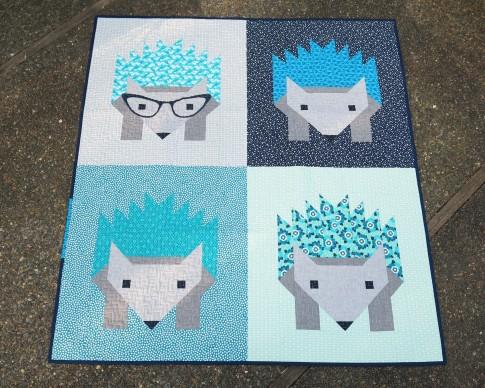 Hazel Hedgehog Ii Designer Pattern Robert Kaufman Fabric