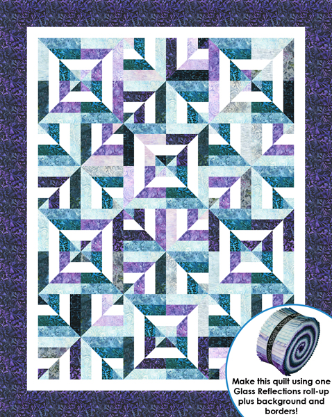 Free Quilt Patterns Square Blocks : Sassy Squares Designer Pattern: Robert Kaufman Fabric Company