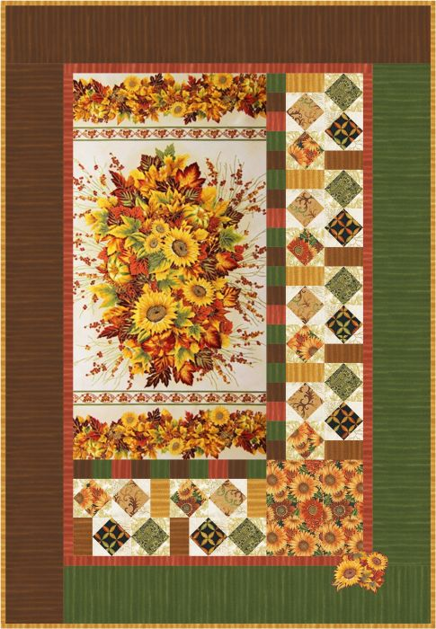 Seasonal Bouquet - Wall Hanging and Tablerunner Free Pattern ... : seasonal quilt patterns - Adamdwight.com