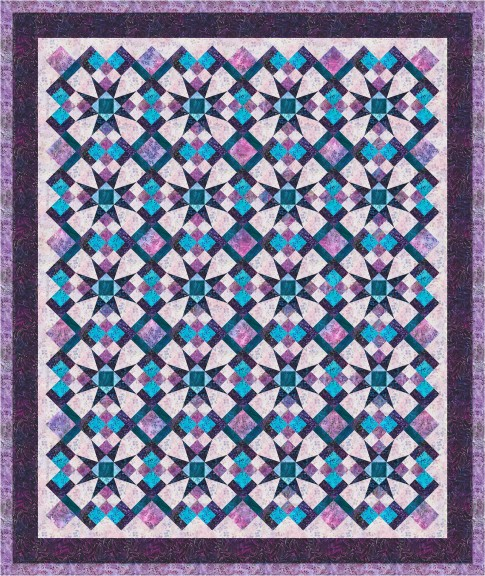 Celestial magic designer pattern robert kaufman fabric for Celestial pattern fabric