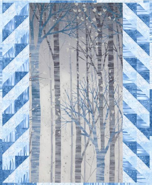 Snowy Woods Free Pattern Robert Kaufman Fabric Company